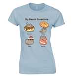 Camiseta Pusheen Beach Essentials
