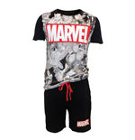 Pijama The Avengers Big Marvel Logo