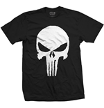 Camiseta Marvel Super heróis Punisher Jagged Skull