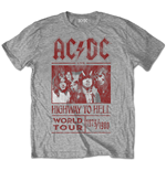 Camiseta AC/DC Highway to Hell World Tour 1979/1980