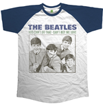 Camiseta Beatles de homem - Design: You Can't Do That - Can't Buy Me Love