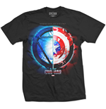 Camiseta Marvel Super heróis Captain America Civil War Whose Side