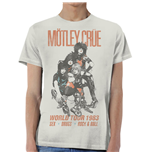 Camiseta Mötley Crüe World Tour Vintage