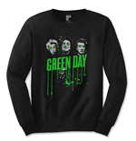 Camiseta manga longa Green Day Drips