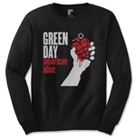 Camiseta manga longa Green Day American Idiot