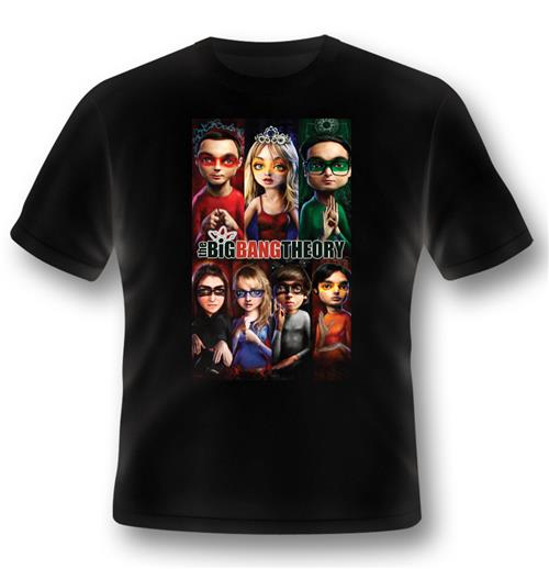 Camiseta Big Bang Theory Super herói