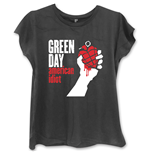 Camiseta Green Day American Idiot de mulher