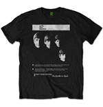 Camiseta Beatles de homem - Design: With The Beatles 8 Track