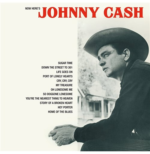 Vinil Johnny Cash - Now Here'S Johnny Cash