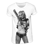 Camiseta Suicide Squad - Harley Photo Sublimation
