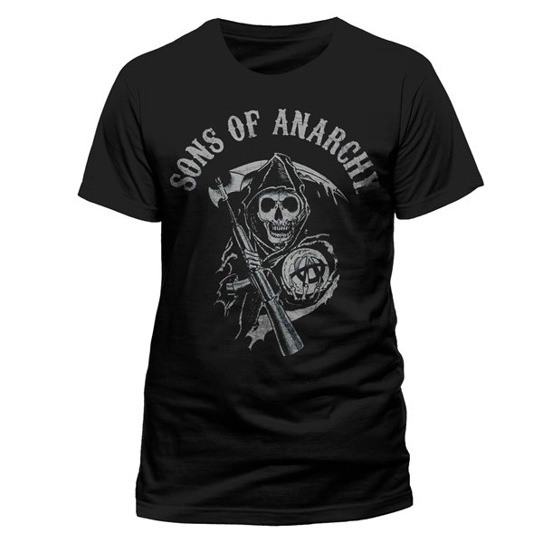 Camiseta Sons Of Anarchy - Reaper Logo