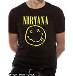 Camiseta Nirvana - Smiley