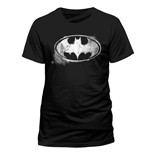 Camiseta Batman - Logo Mono Distressed