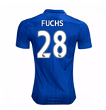Camiseta Leicester City F.C. 2016-2017 Home