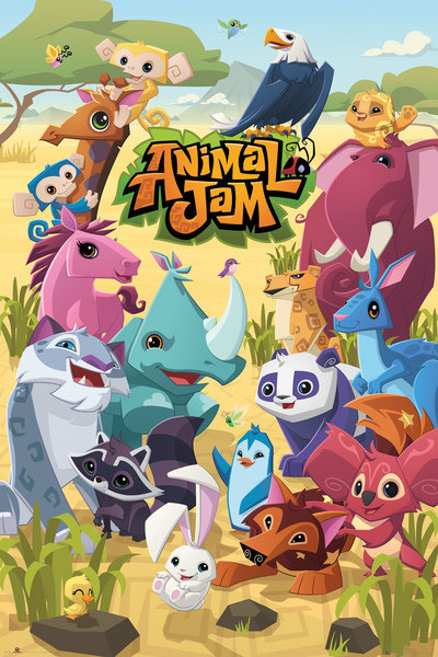 Póster Animal Jam Cast