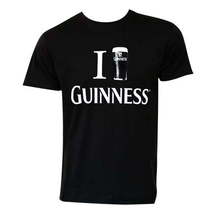 Camiseta Guinness Love