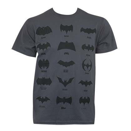 Camiseta Batman Assorted Logos