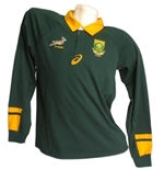 Camiseta África do Sul Rugby