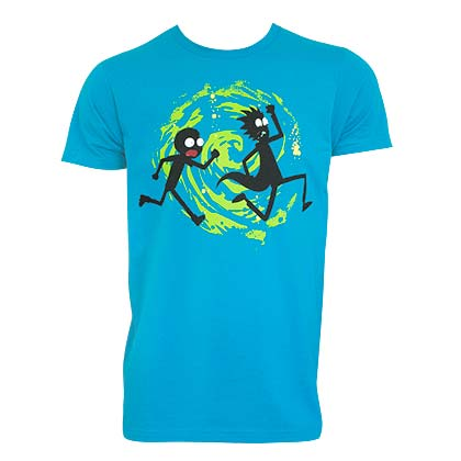 Camiseta Rick and Morty Swirl
