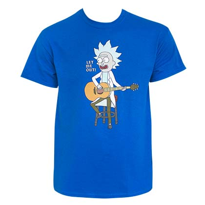 Camiseta Rick and Morty Let Me Out