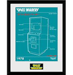 Mouldura Space Invaders 252640