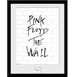 Foto Moldura Pink Floyd - The Wall - White Wall - 30x40 Cm