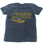 Camiseta Beatles de homem - Design: Yellow Submarine Nothing Is Real