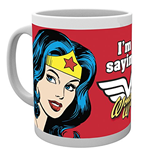 Caneca Dc Comics - Wonder Woman Not Saying