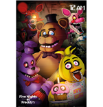 Póster Five Nights at Freddy's - Group - 61x91,5 Cm