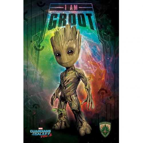 Póster Guardians of the Galaxy Groot