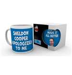 Caneca Big Bang Theory - Sheldon Cooper Apologised