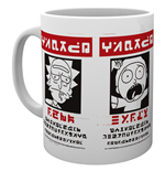 Caneca Rick and Morty 254252