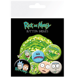 Pack Chapinhas Rick and Morty - Characters
