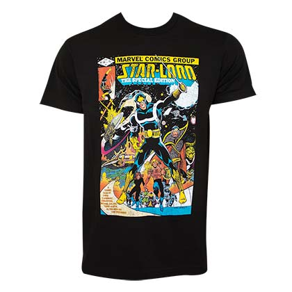Camiseta Guardians of the Galaxy Star Lord Comic