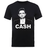 Camiseta Johnny Cash de homem - Design: Straight Stare