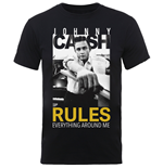 Camiseta Johnny Cash Rules Everything