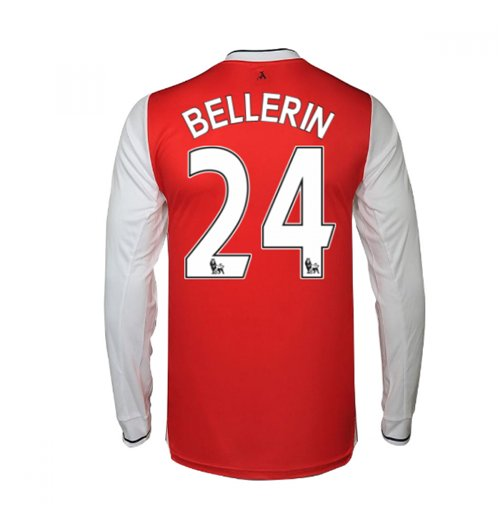 Camiseta Manga Longa Arsenal Home 2016/17 (Bellerin 24)