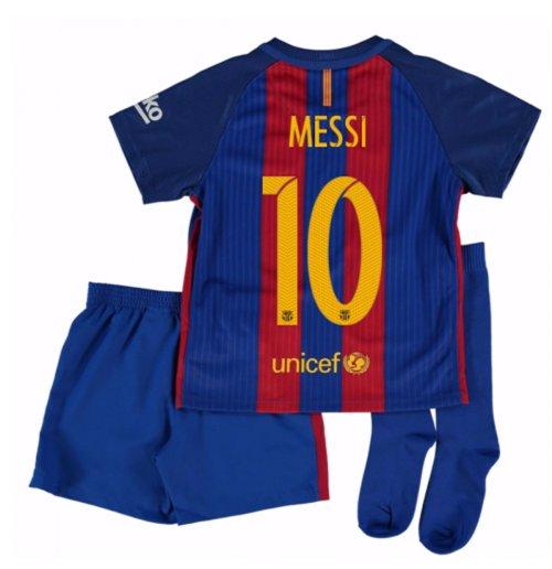 Compra Camiseta Barcelona Home 2016 17 de criança (Messi 10) 9d4ef42eea433