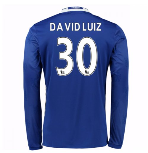 Camiseta Brasil Home 201617 (David Luiz 4) de criança