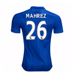 Camiseta Leicester City F.C. 2016-2017 Home (Mahrez 26)