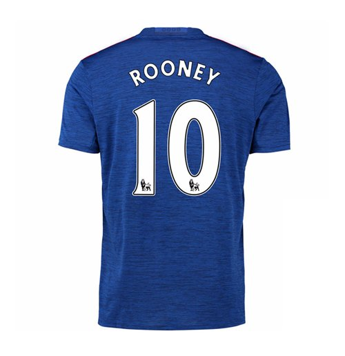 Camiseta Manchester United FC 2016-2017 Away (Rooney 10) de criança