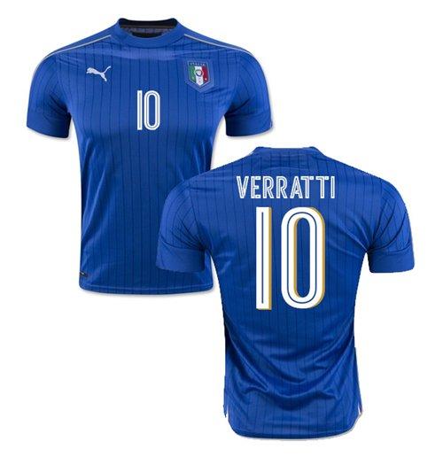 3e7a28906c Compra Camiseta Itália Home 2016 17 (Verratti 10) Original