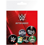 Pack Broches WWE - Logos