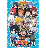 Póster Naruto - 3d Compilation