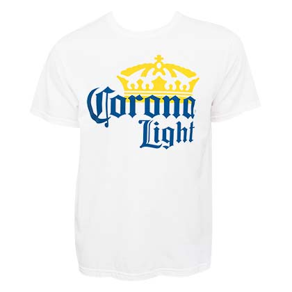 Camiseta Corona Light Large Logo