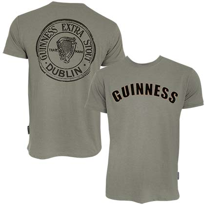 Camiseta Guinness Bottle Cap