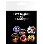 Pack Chapinhas Five Nights at Freddy's - Mix
