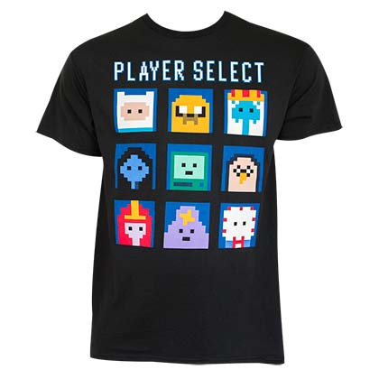 Camiseta Hora de aventuras Player Select