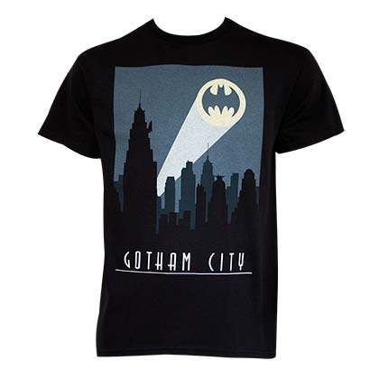 Camiseta Batman Art Deco Gotham City