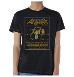 Camiseta Anthrax de homem - Design: Among The Living New